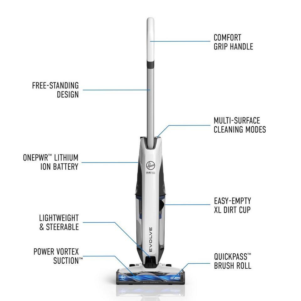 ONEPWR Evolve Cordless Upright Vacuum - BH53405CDI