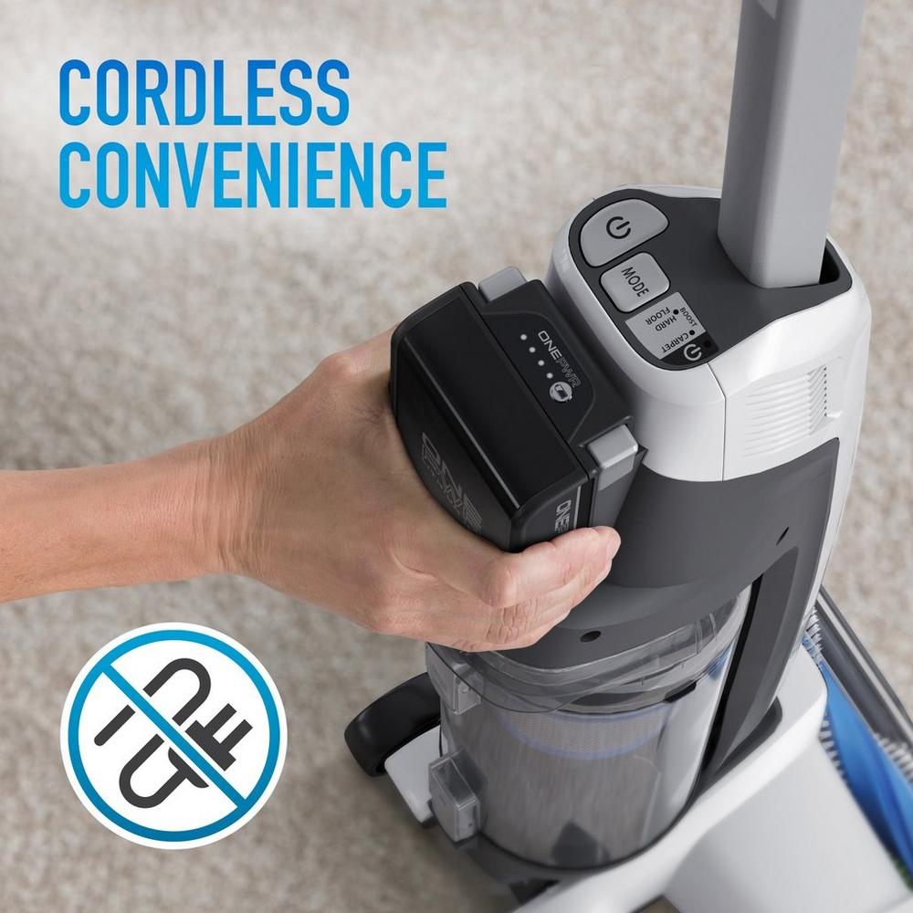 ONEPWR Evolve Cordless Upright Vacuum - Two Battery Kit3