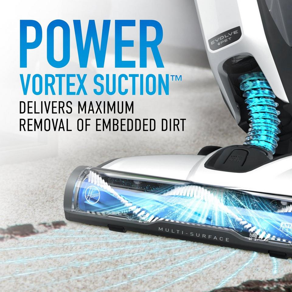 Hoover ONEPWR Evolve Cordless Upright Vacuum - Two Battery Kit - BH53420PCE