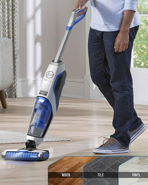 Cleans Sealed Hard Floors
