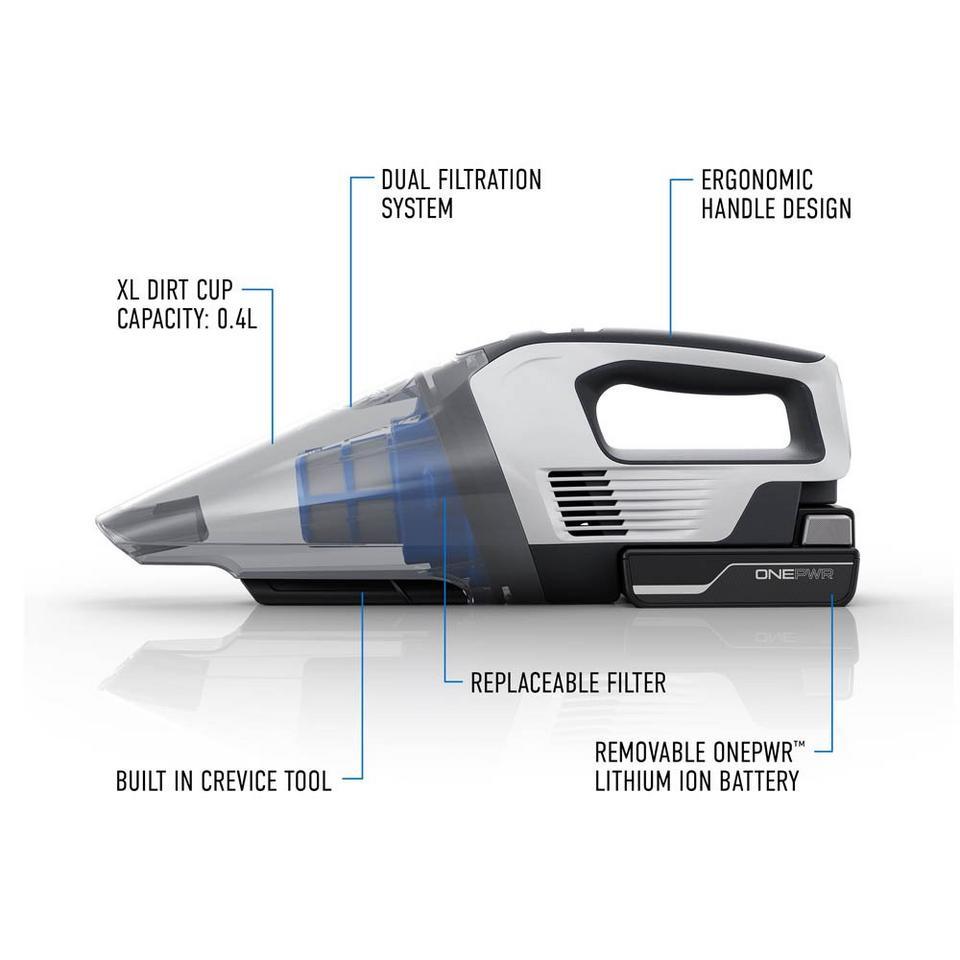 ONEPWR Cordless Hand Vacuum - Kit - BH57005