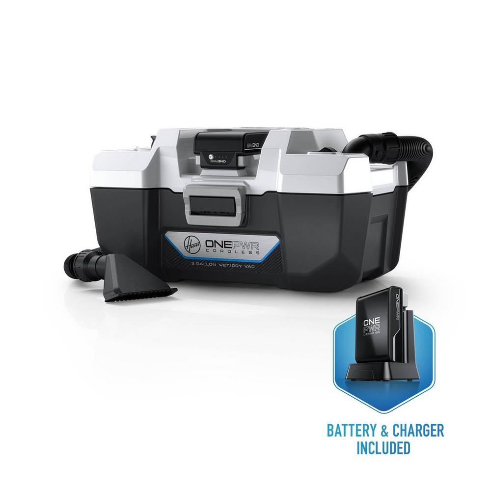 ONEPWR Wet/Dry Cordless Utility Vacuum - Kit1