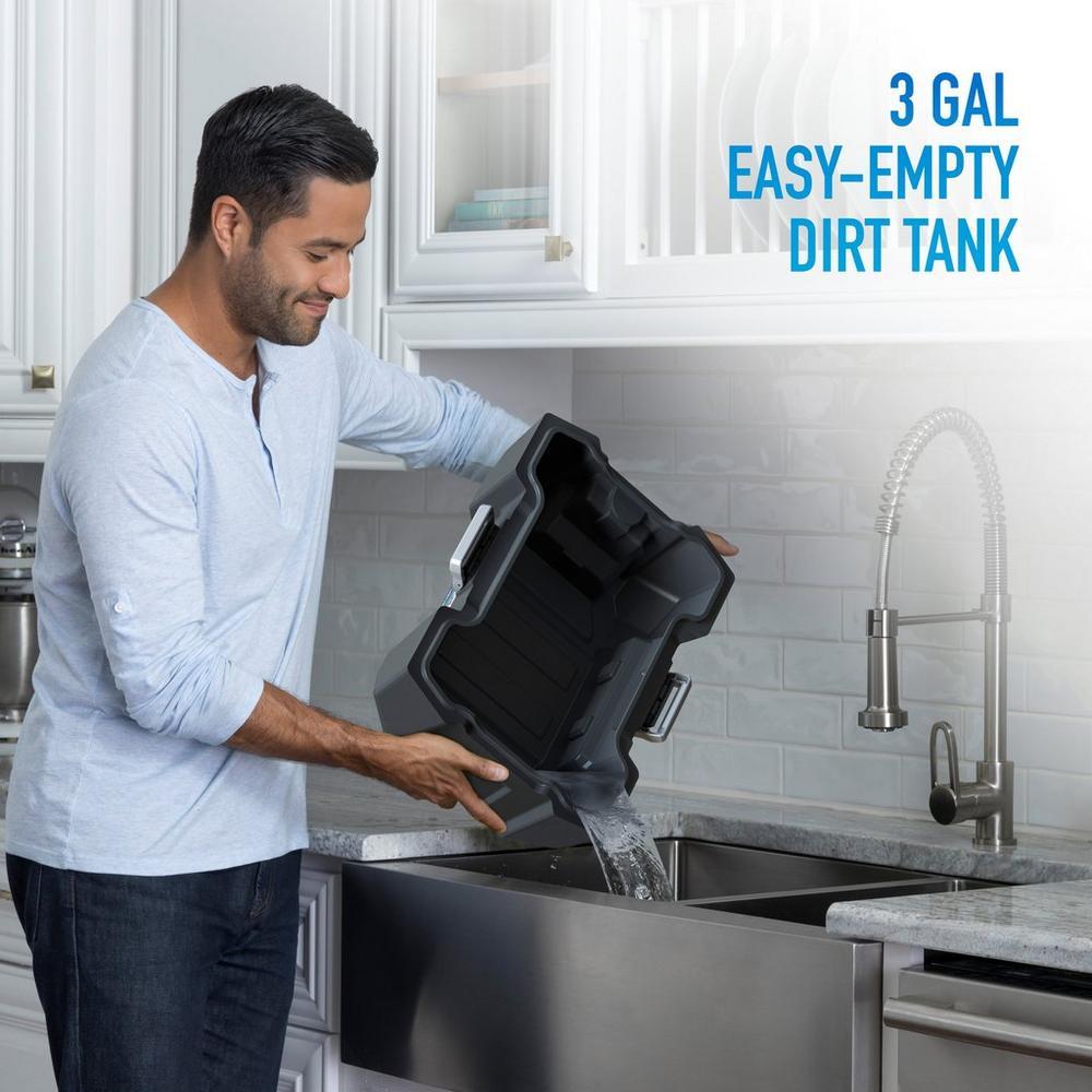 ONEPWR Wet/Dry Cordless Utility Vacuum - Kit5