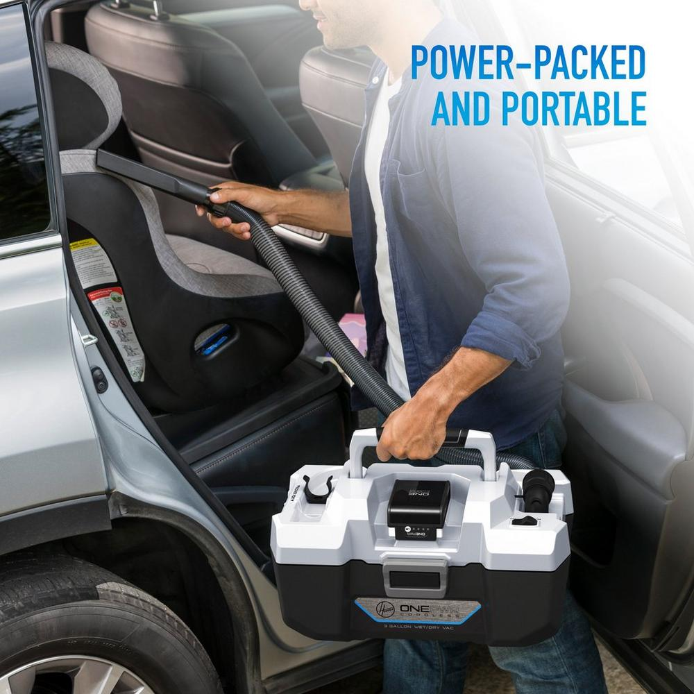 ONEPWR Wet/Dry Cordless Utility Vacuum - Kit2