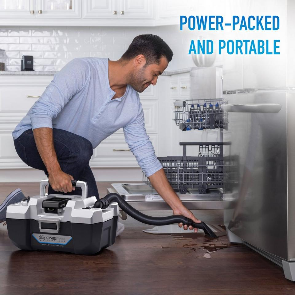 ONEPWR Wet/Dry Cordless Utility Vacuum - Kit - BH57105