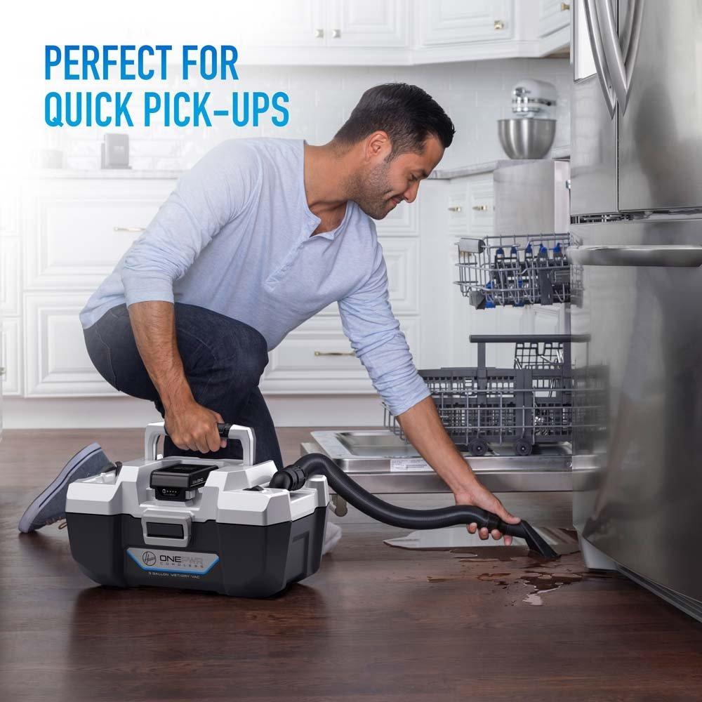 ONEPWR Wet/Dry Cordless Utility Vacuum - Kit4