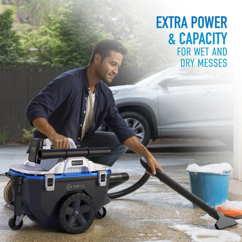 ONEPWR High-Capacity Wet/Dry Utility Vacuum - Tool Only2