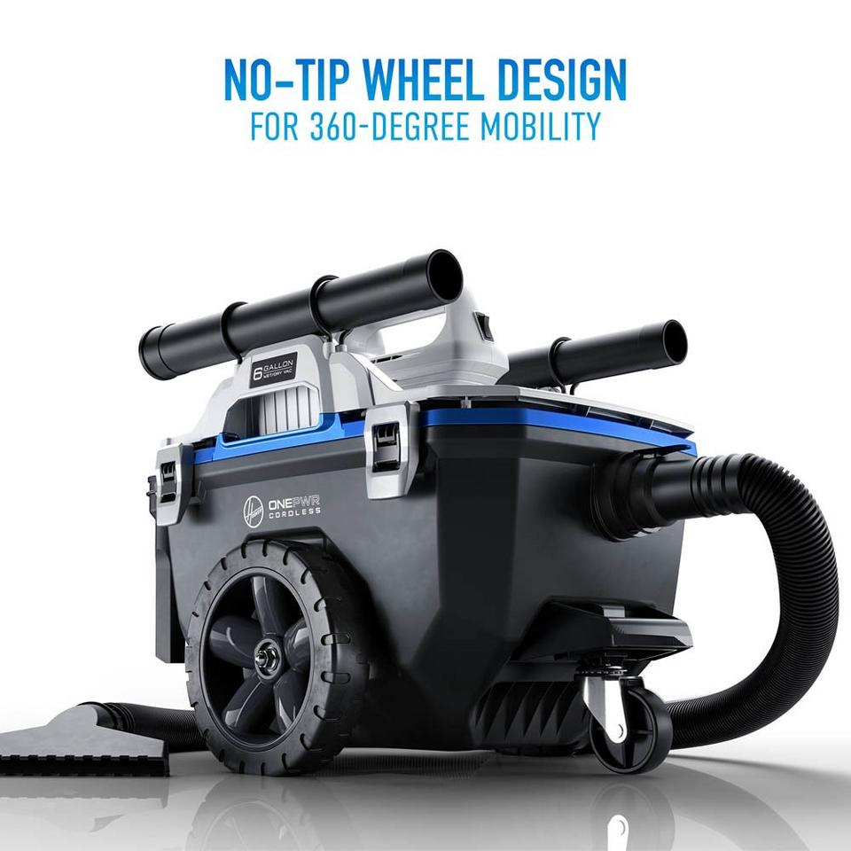 ONEPWR High-Capacity Wet/Dry Utility Vacuum - Tool Only - BH57120