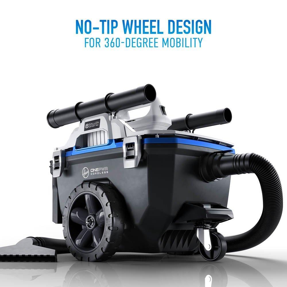ONEPWR High-Capacity Wet/Dry Utility Vacuum - Kit5
