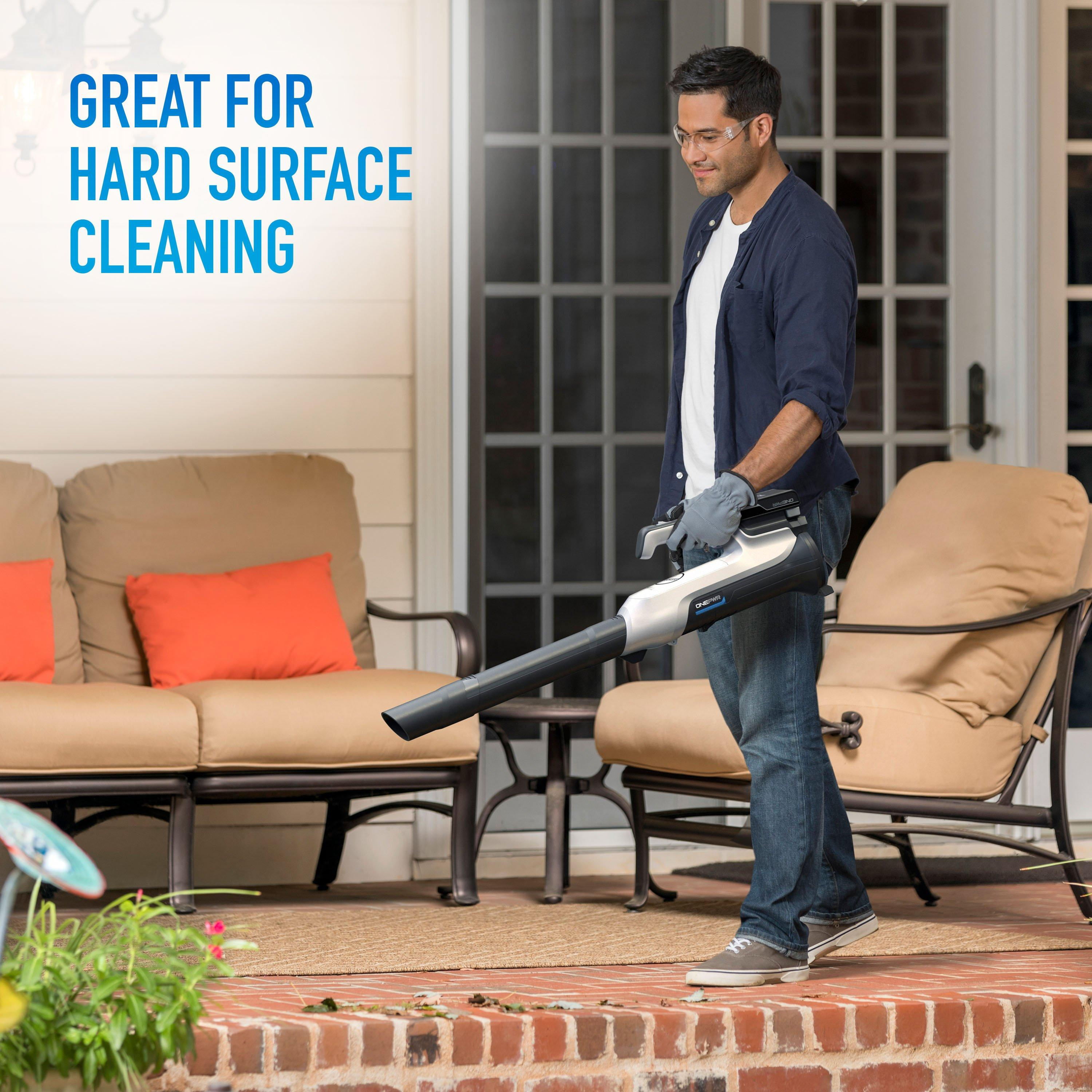 ONEPWR Cordless Hard Surface Sweeper - Kit3