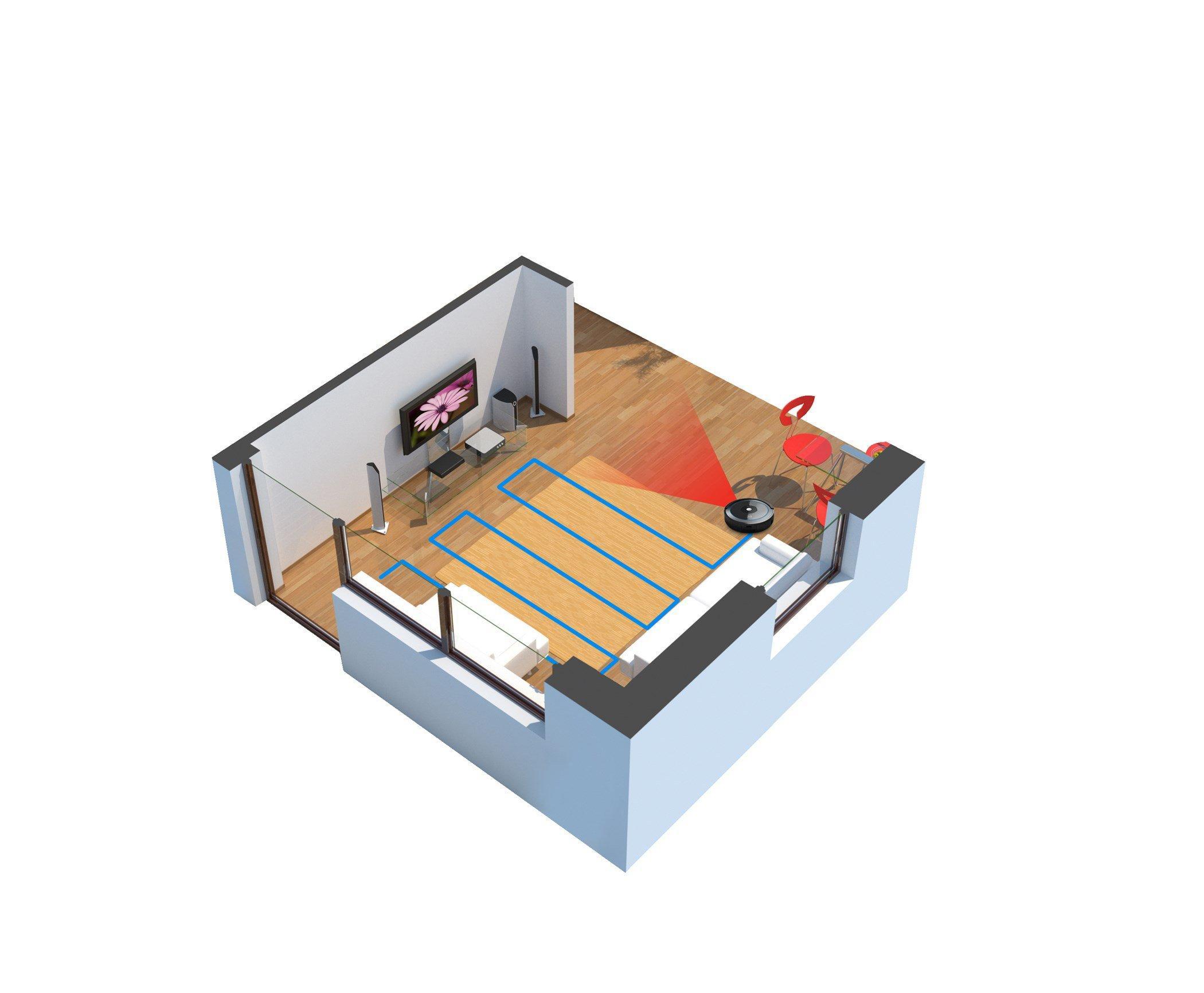 Quest 1000 Robot Vacuum7