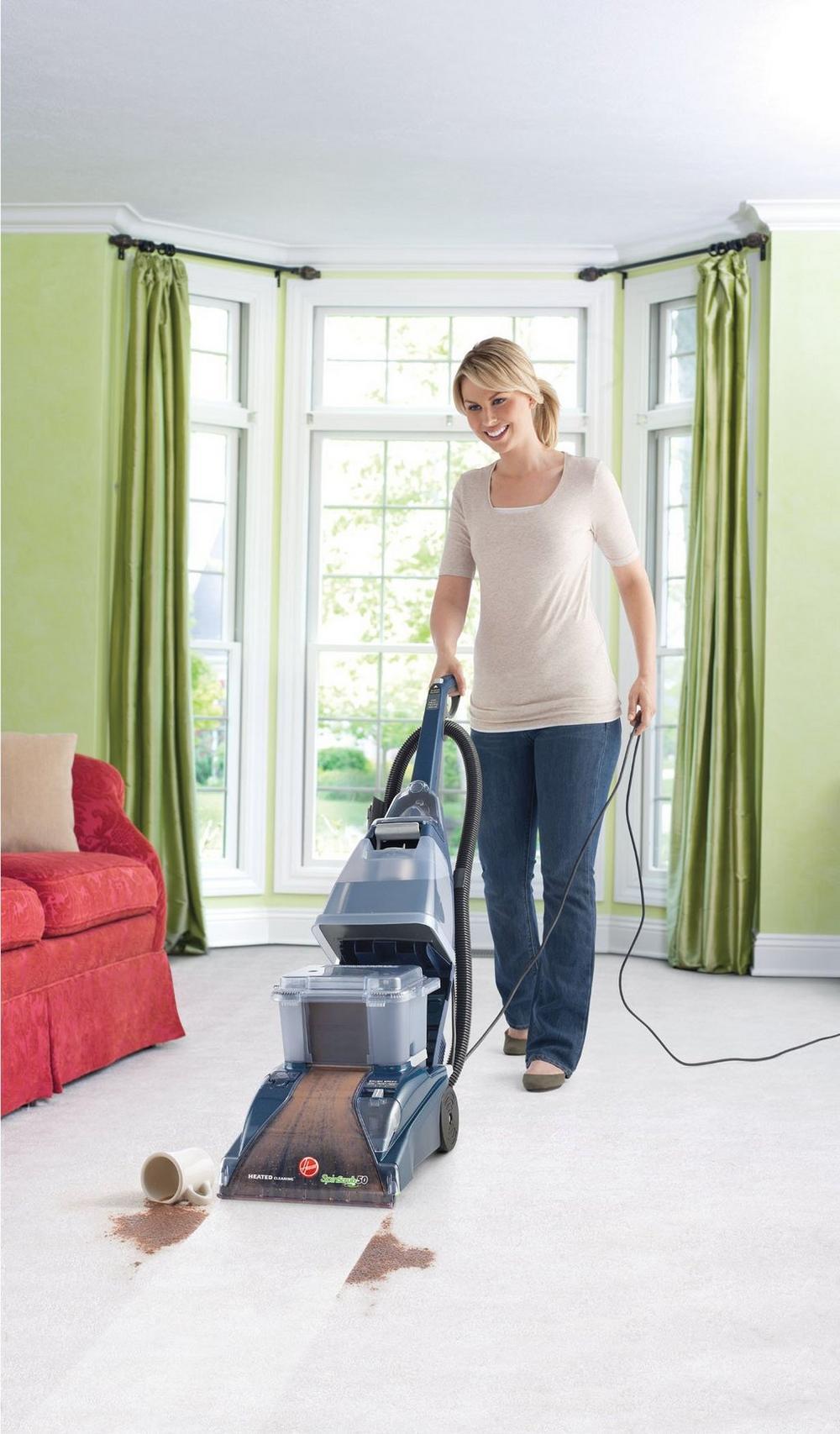 SteamVac SpinScrub with CleanSurge Carpet Cleaner3