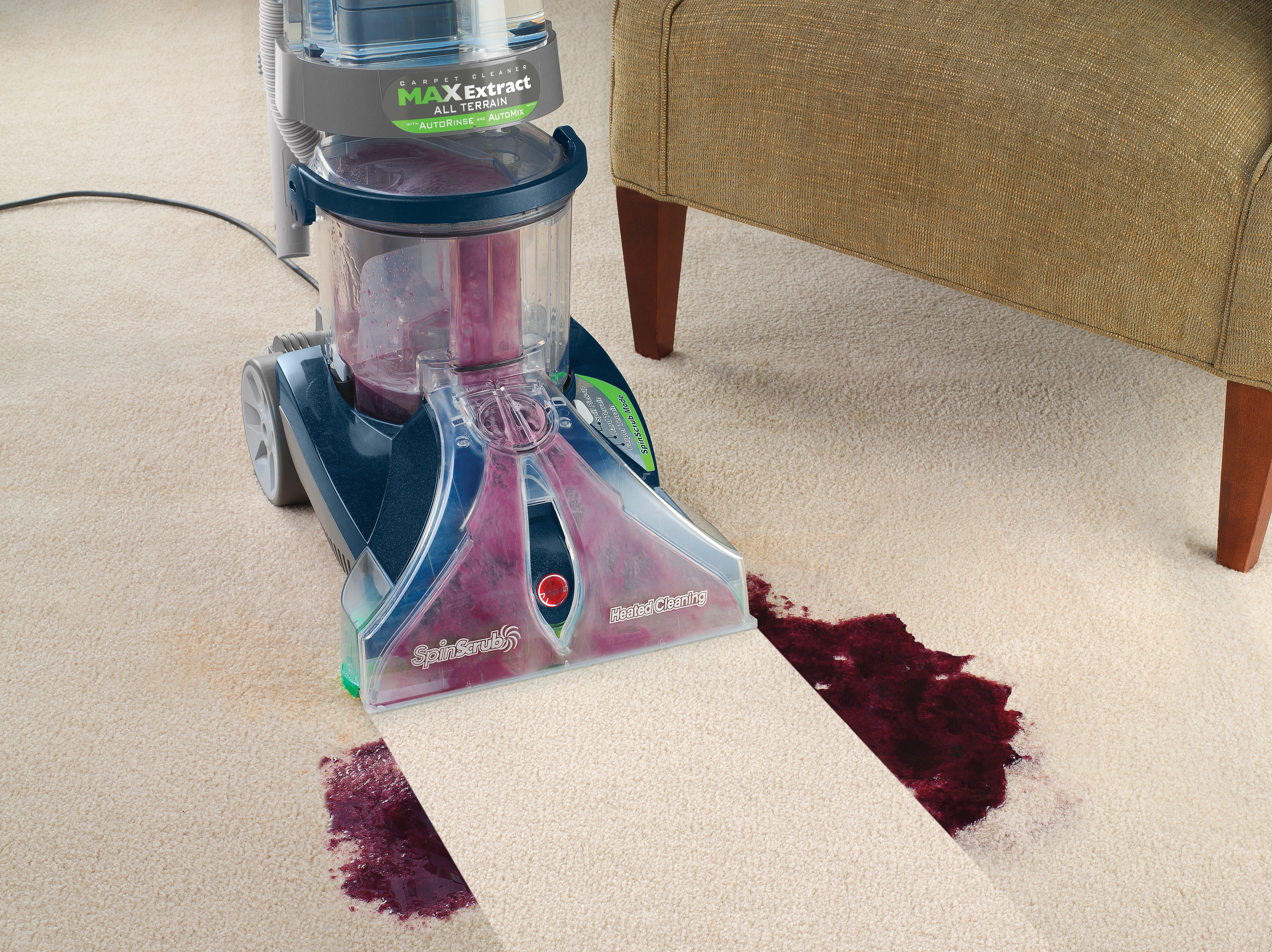Max Extract Dual V WidePath Carpet Washer4