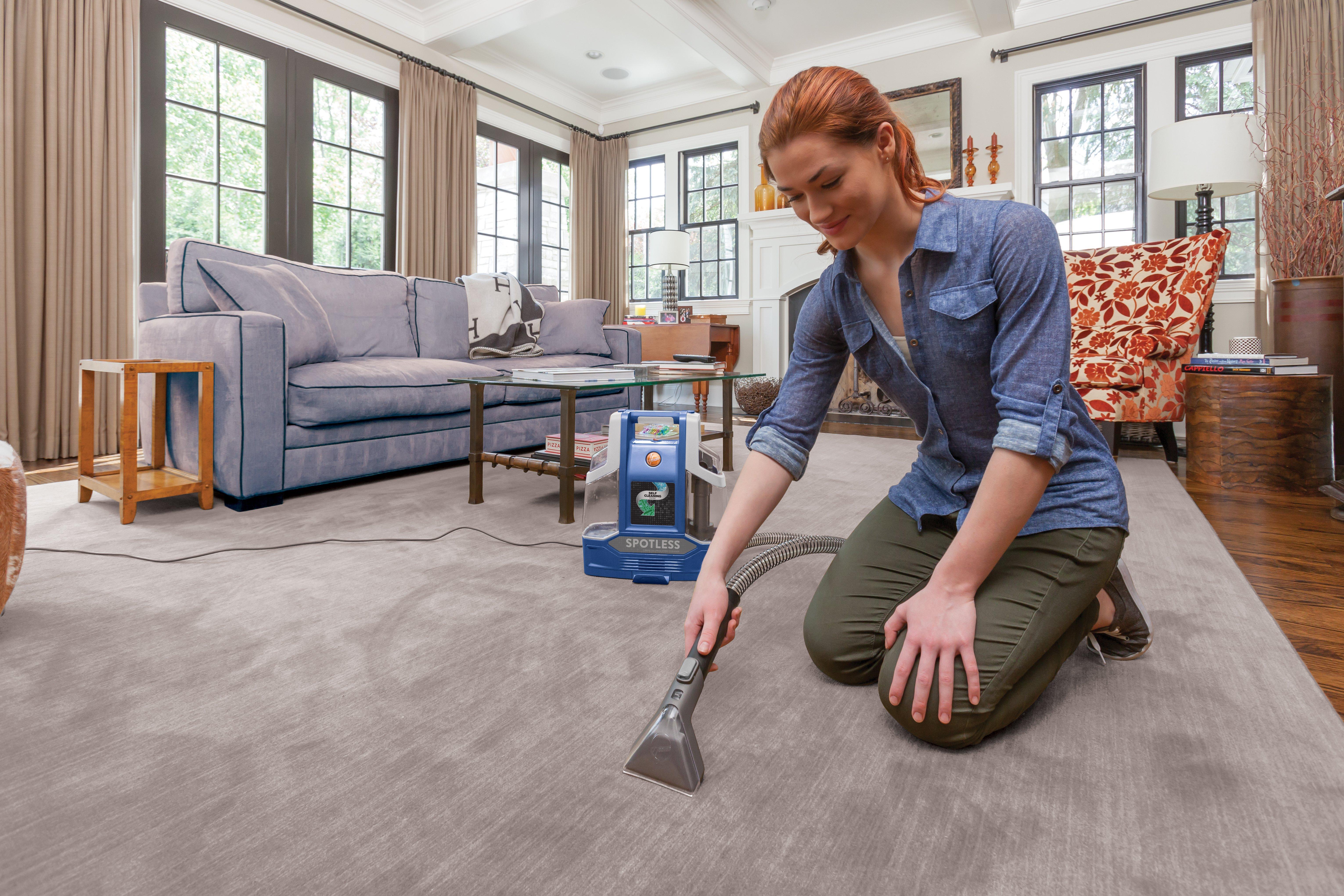 Spotless Portable Carpet & Upholstery Cleaner2