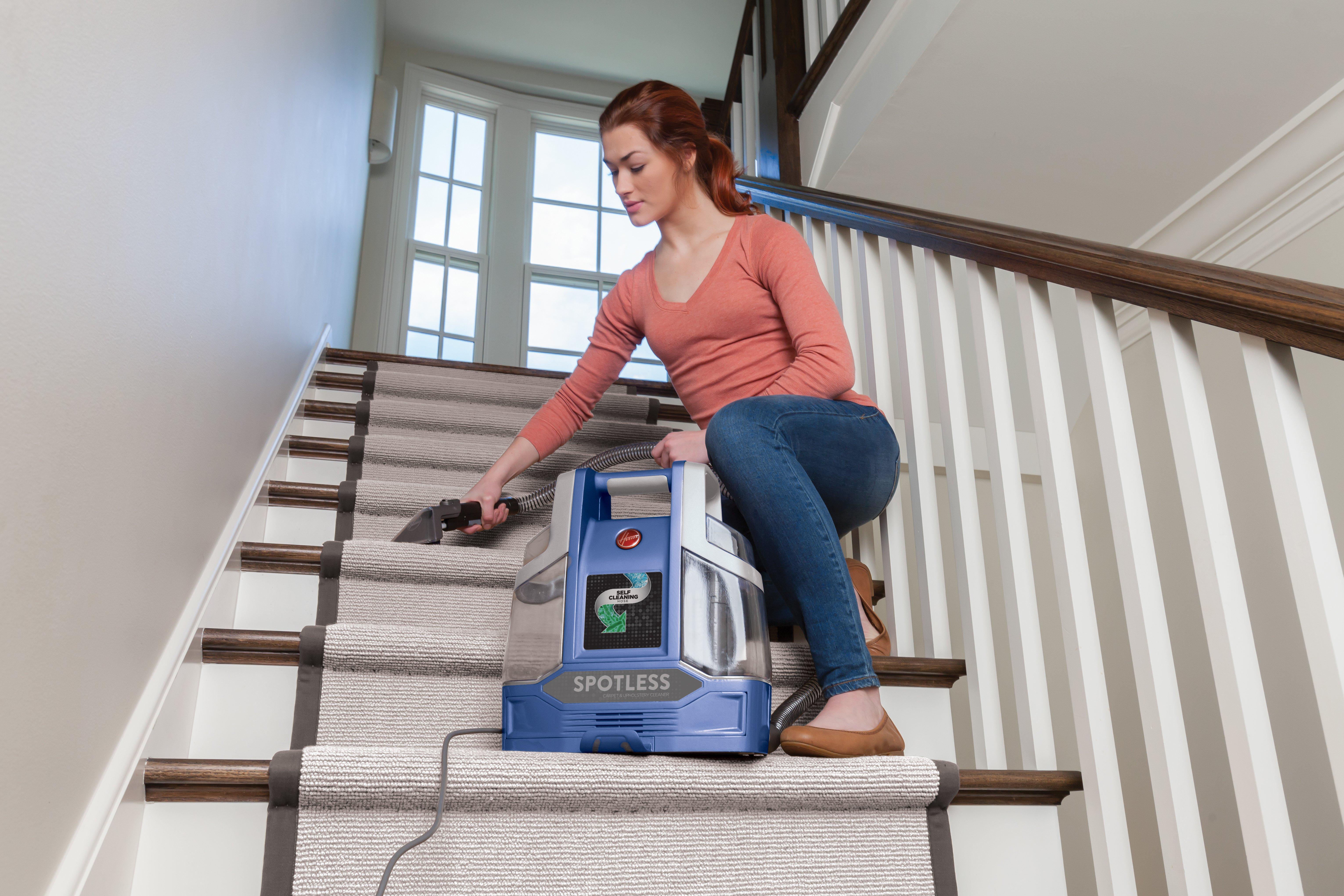 Spotless Portable Carpet & Upholstery Cleaner4