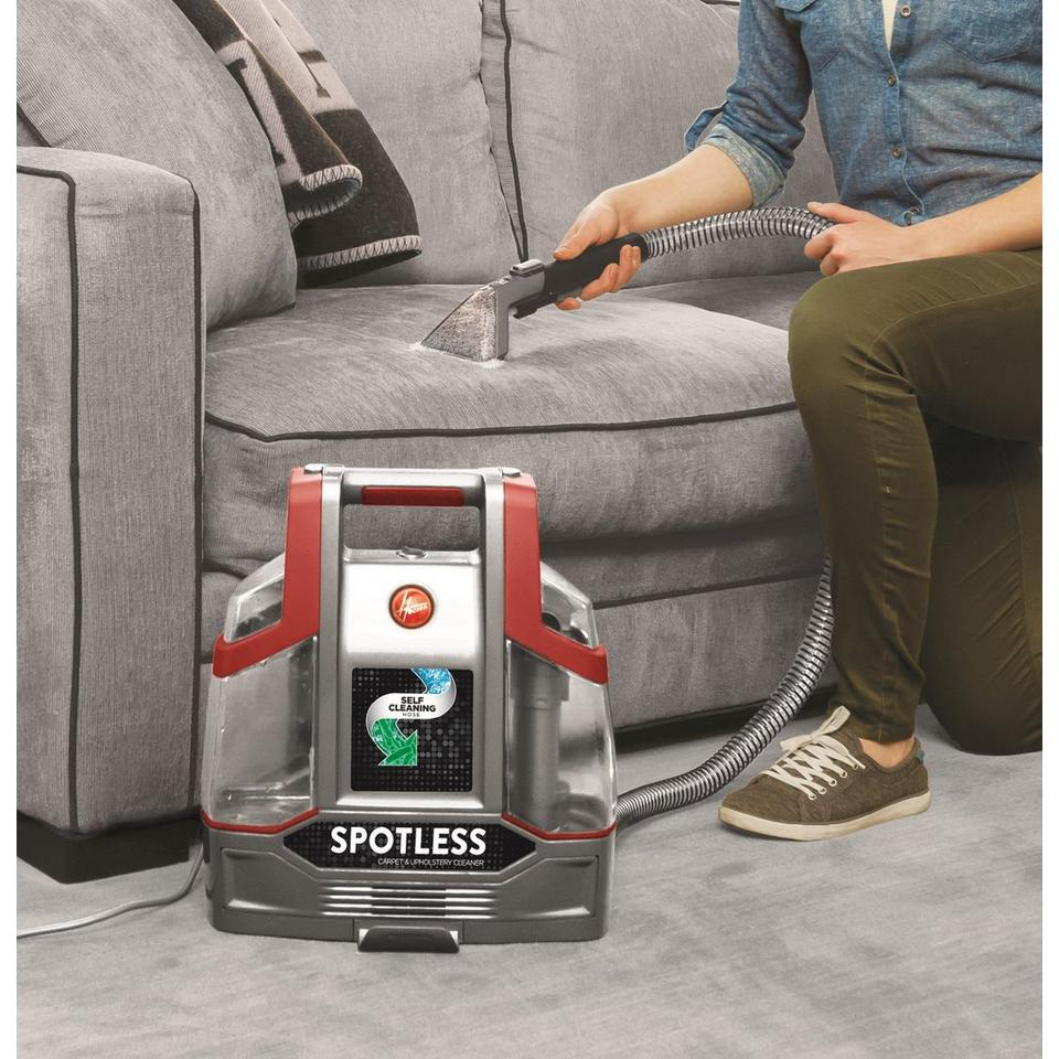 spotless portable carpet upholstery cleaner fh11300 hoover. Black Bedroom Furniture Sets. Home Design Ideas