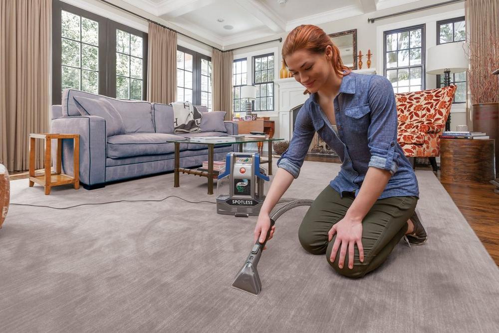 Spotless Deluxe Portable Carpet & Upholstery Cleaner2