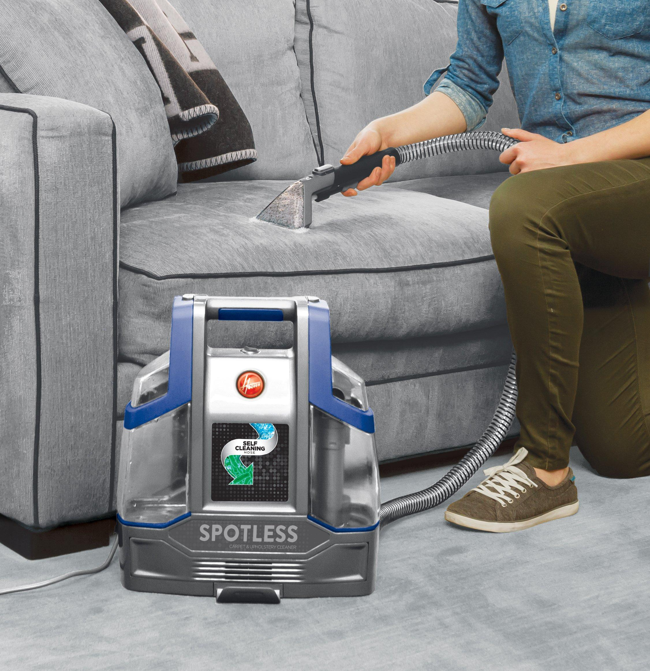 Spotless Deluxe Portable Carpet & Upholstery Cleaner3