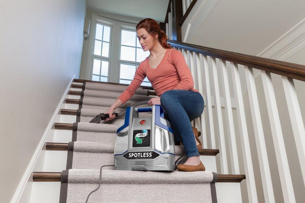 Spotless Deluxe Portable Carpet & Upholstery Cleaner4