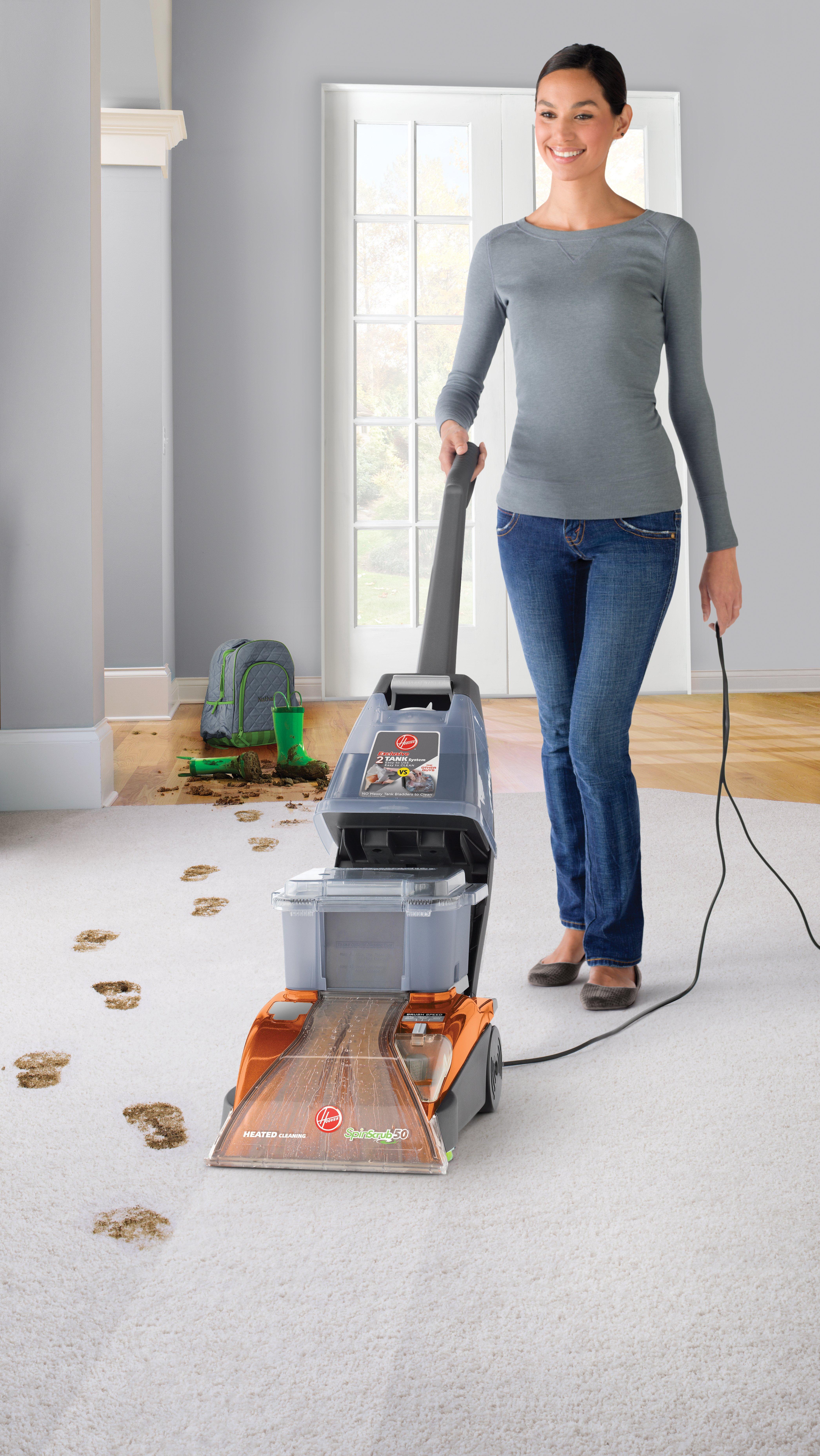 SteamVac® Carpet Washer3