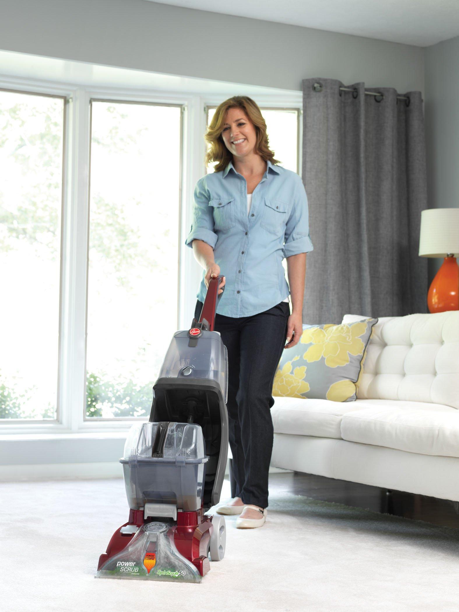 Hoover® Power Scrub Deluxe Carpet Cleaner3