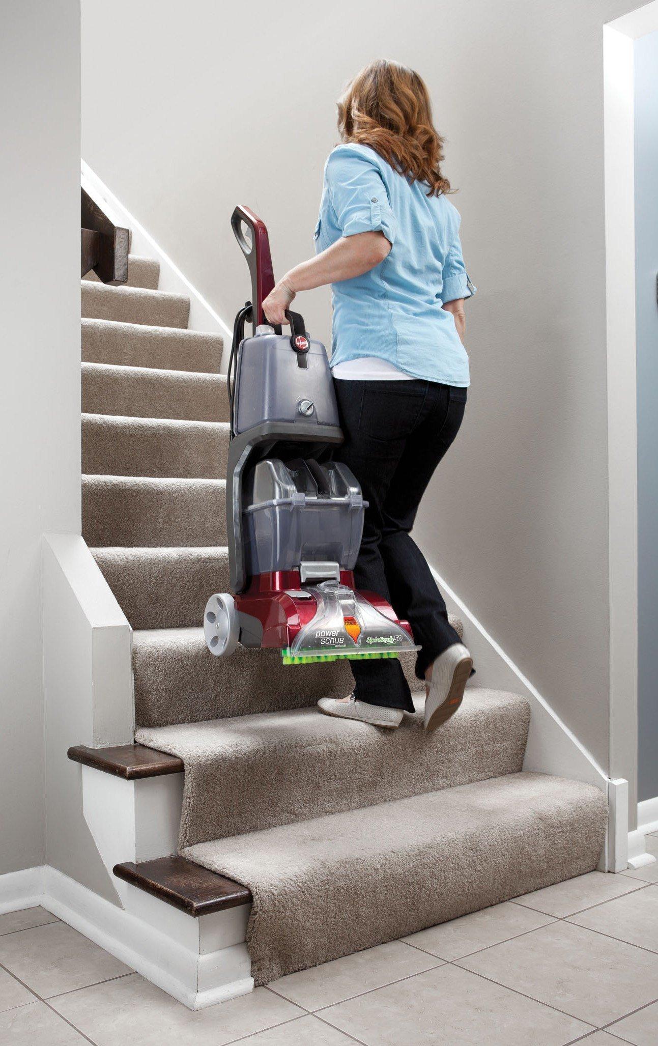 Hoover® Power Scrub Deluxe Carpet Cleaner4