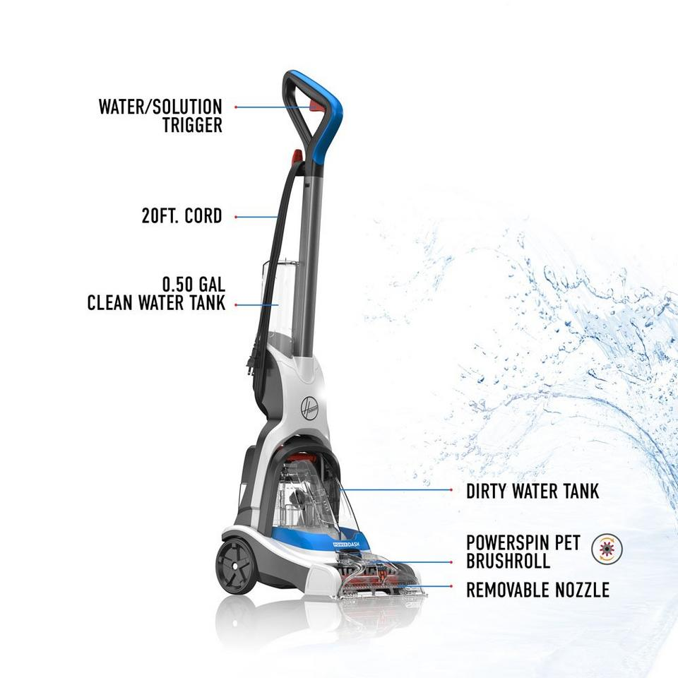 PowerDash Pet Compact Carpet Cleaner - FH50700US