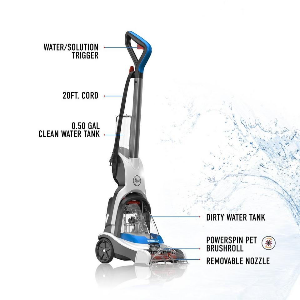 Powerdash Pet Compact Carpet Cleaner Fh50700 Hoover