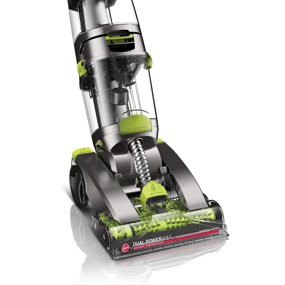 dual power max pet carpet cleaner fh51001