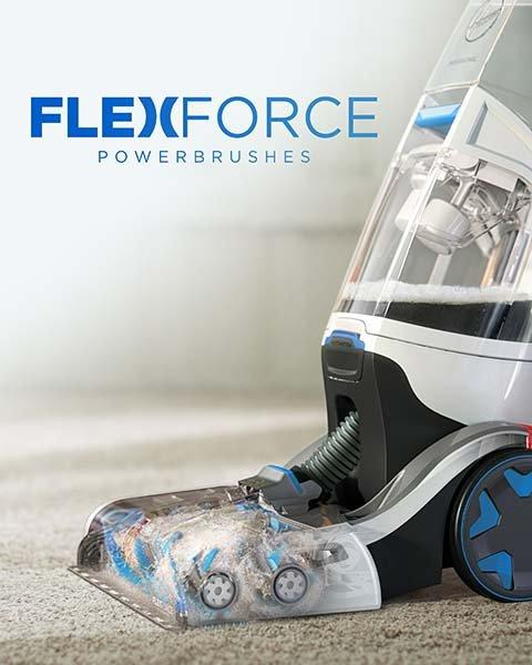 FlexForce Brushes Removes Dirt