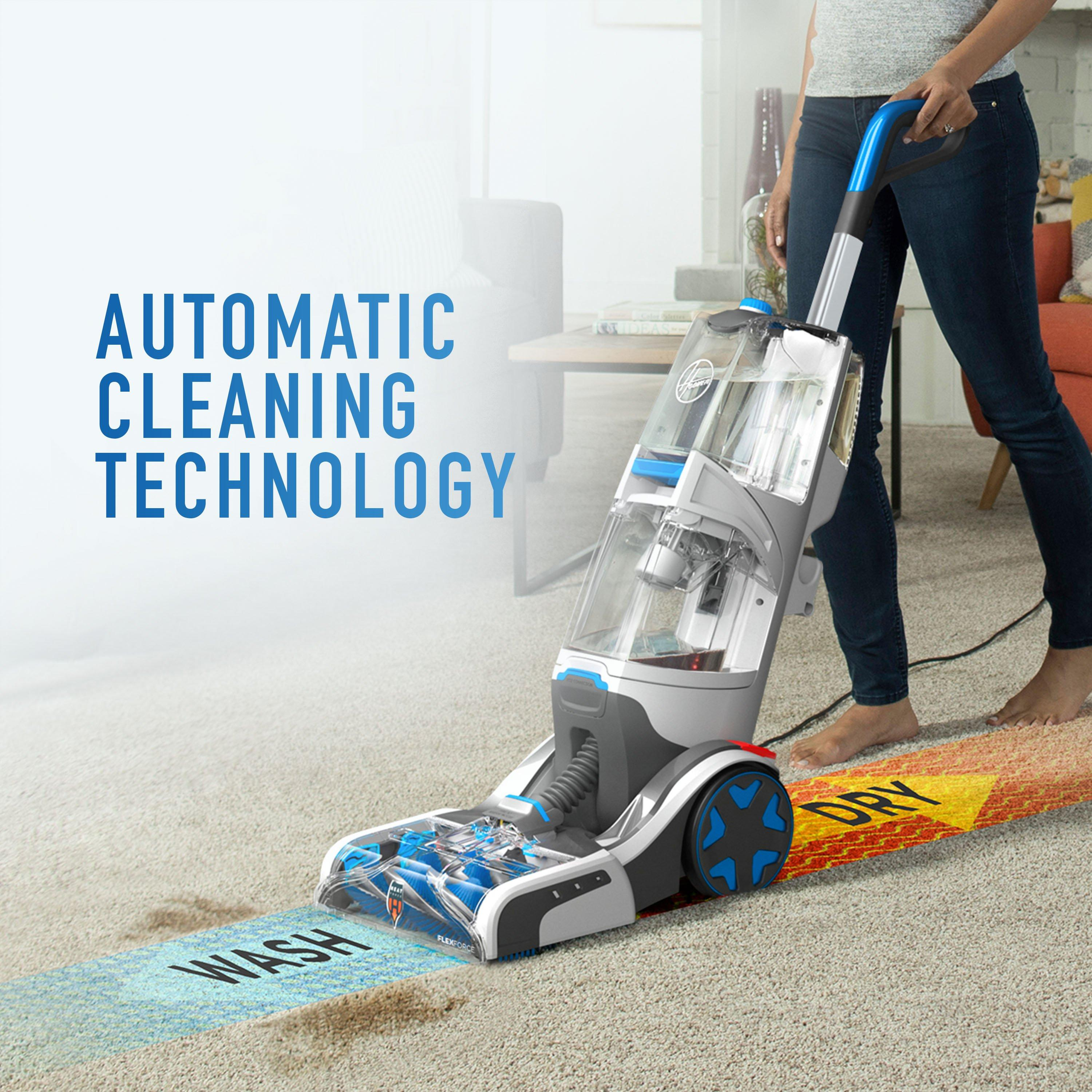 SmartWash Automatic Upright Carpet Cleaner7