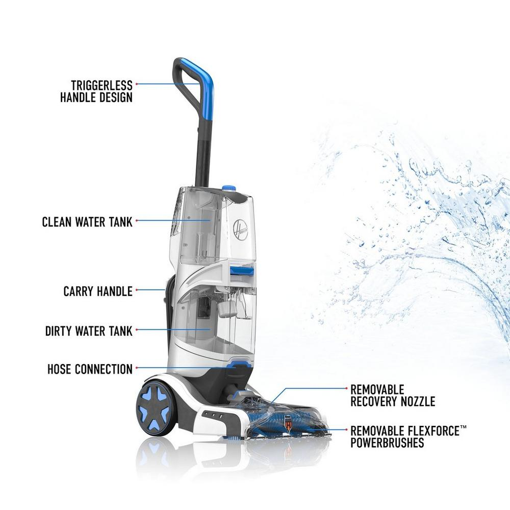 SmartWash Automatic Upright Carpet Cleaner10