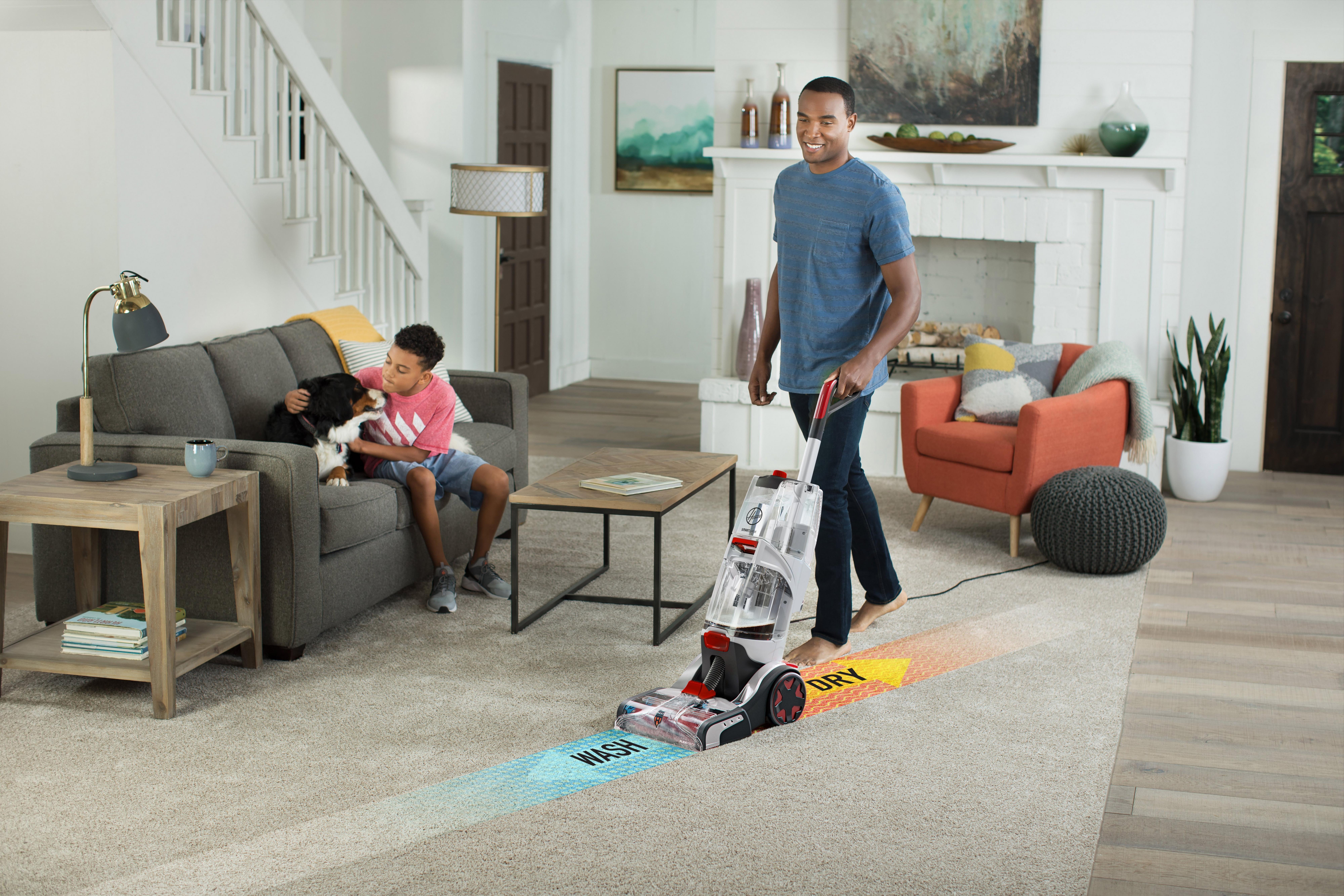 SmartWash+ Automatic Carpet Washer3