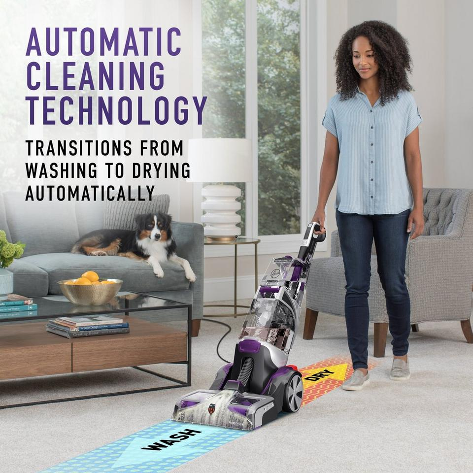 SmartWash PET Complete Automatic Carpet Cleaner - FH53000PC