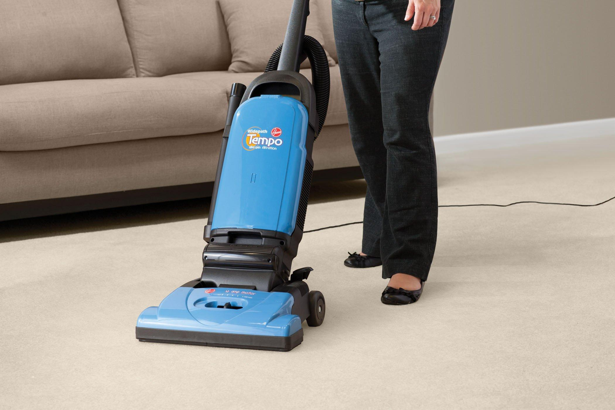 Tempo Widepath Bagged Upright Vacuum3