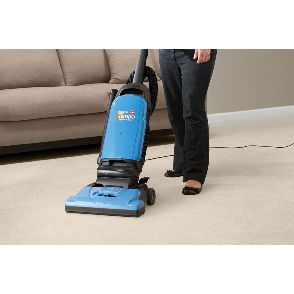 tempo widepath bagged upright vacuum u5140900 rh hoover com Citizen Eco-Drive Manual Hoover SteamVac User Manual