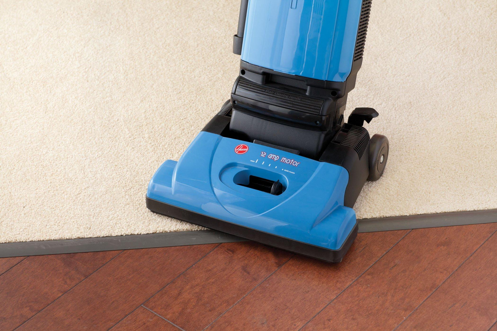 Tempo Widepath Bagged Upright Vacuum5