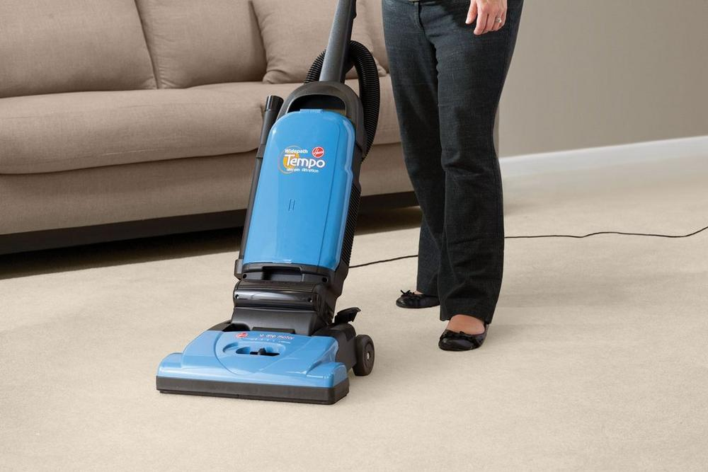 Reconditioned Tempo Widepath Bagged Upright Vacuum3