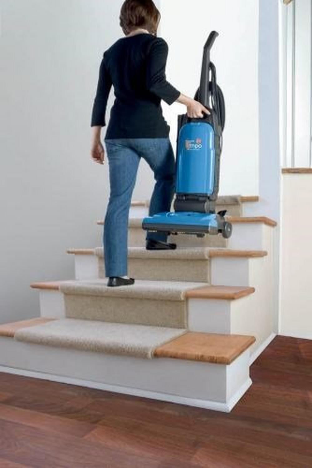 Reconditioned Tempo Widepath Bagged Upright Vacuum5