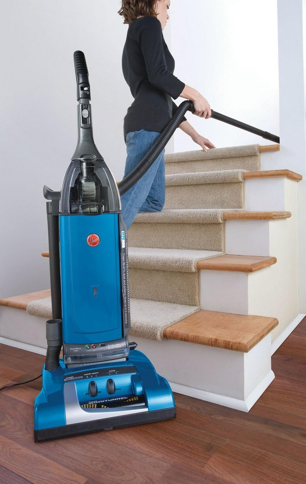 Reconditioned Self-Propelled WindTunnel Bagged Upright Vacuum7