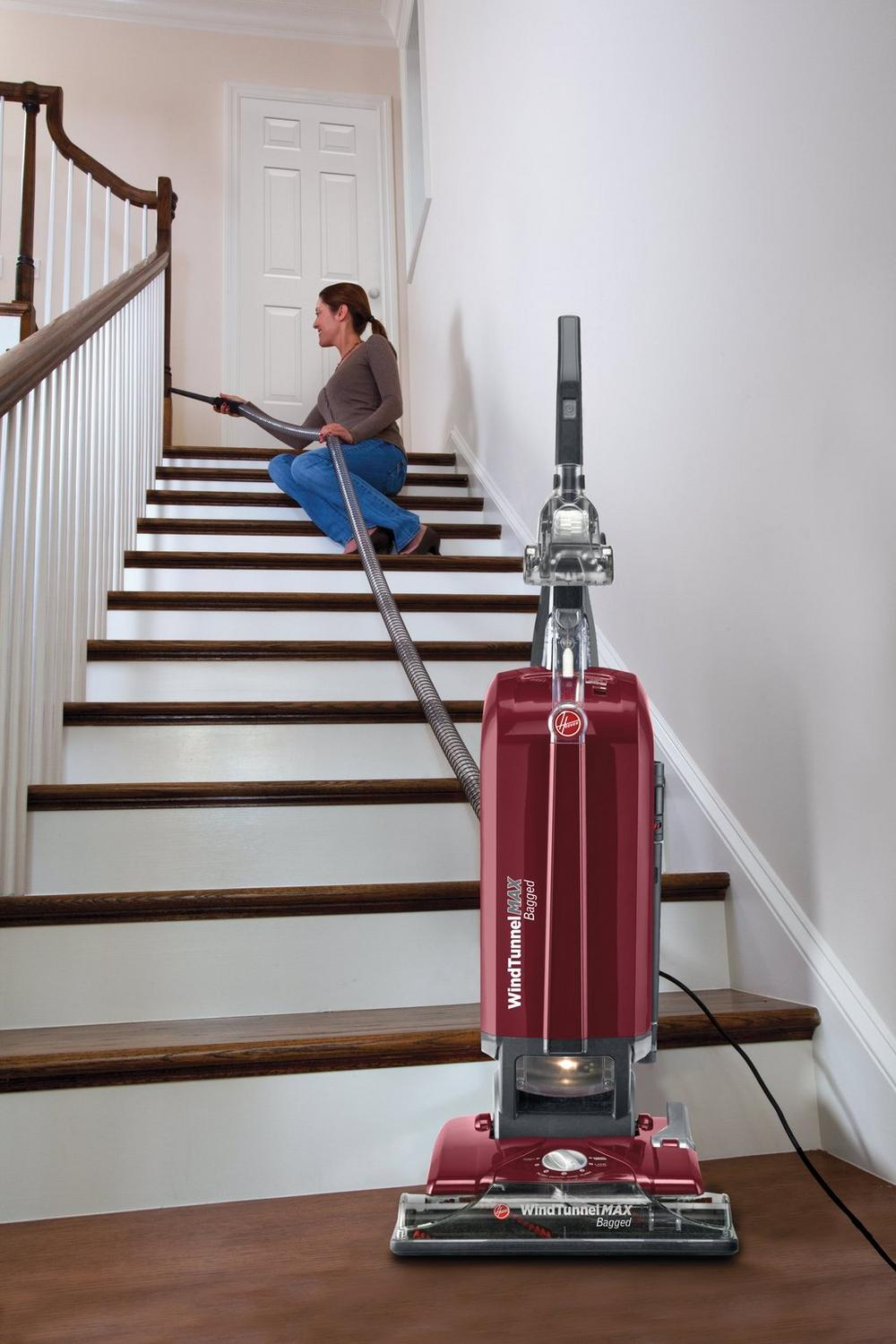 WindTunnel T-Series Max Bagged Upright Vacuum7