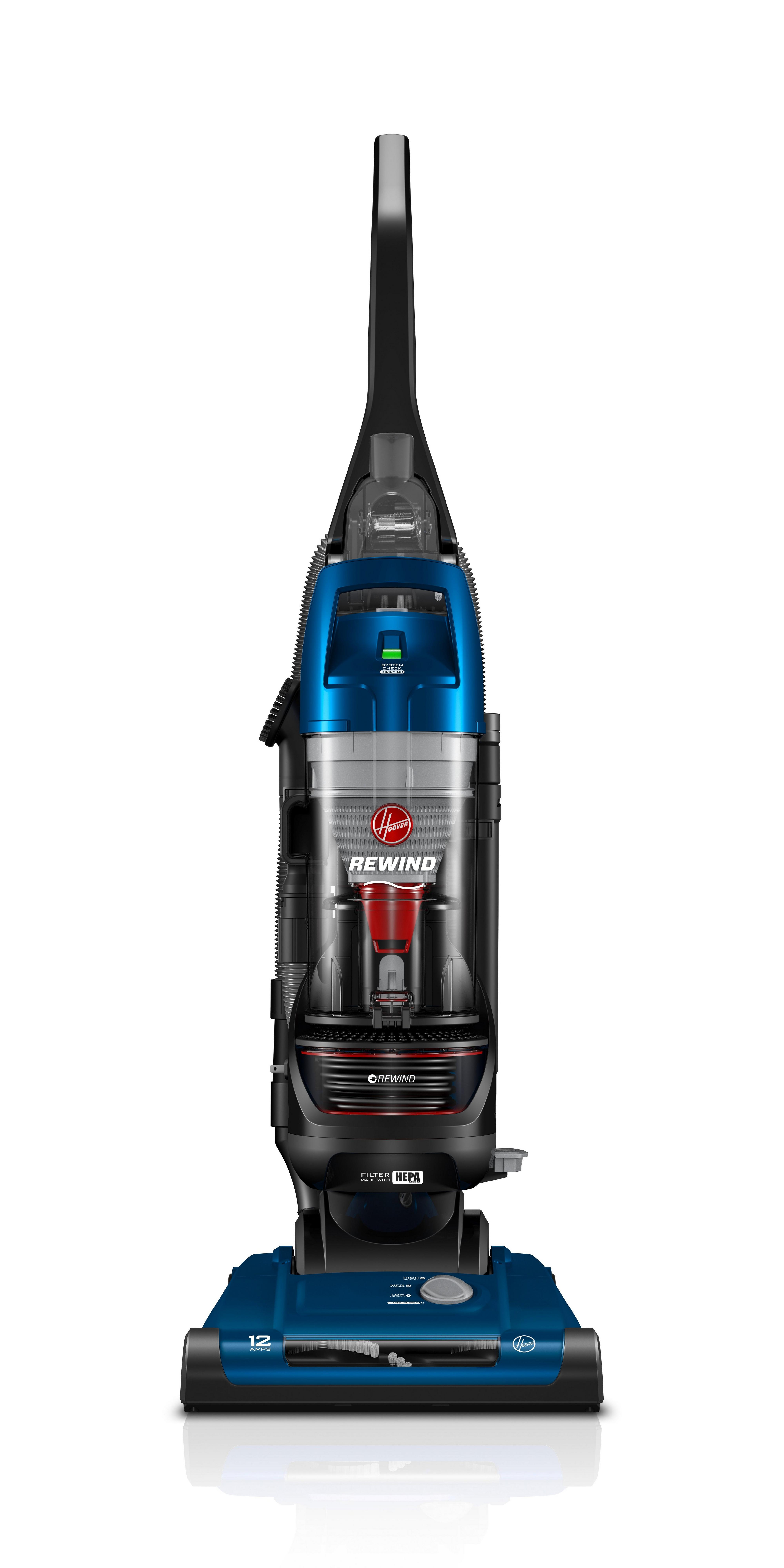 Rewind Bagless Upright Vacuum Hoover