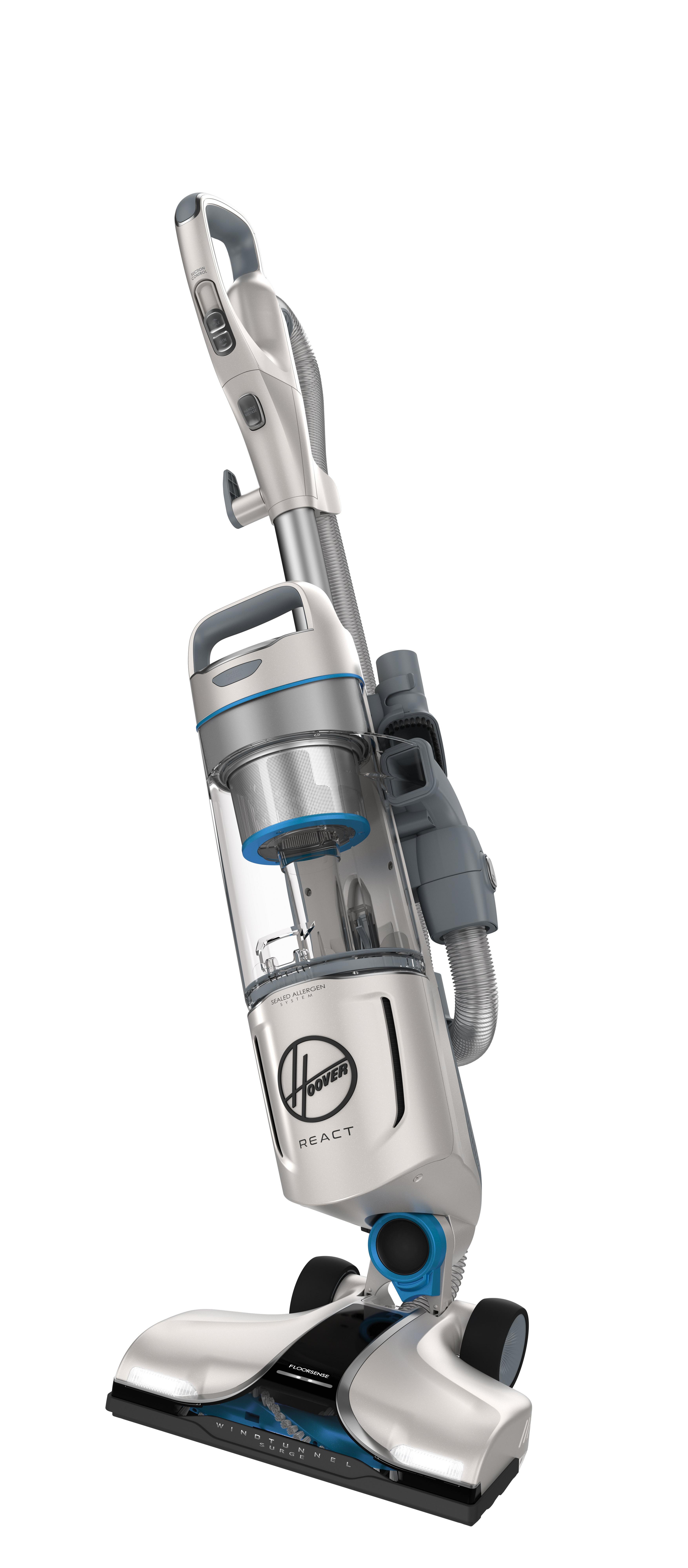 REACT Upright Vacuum42