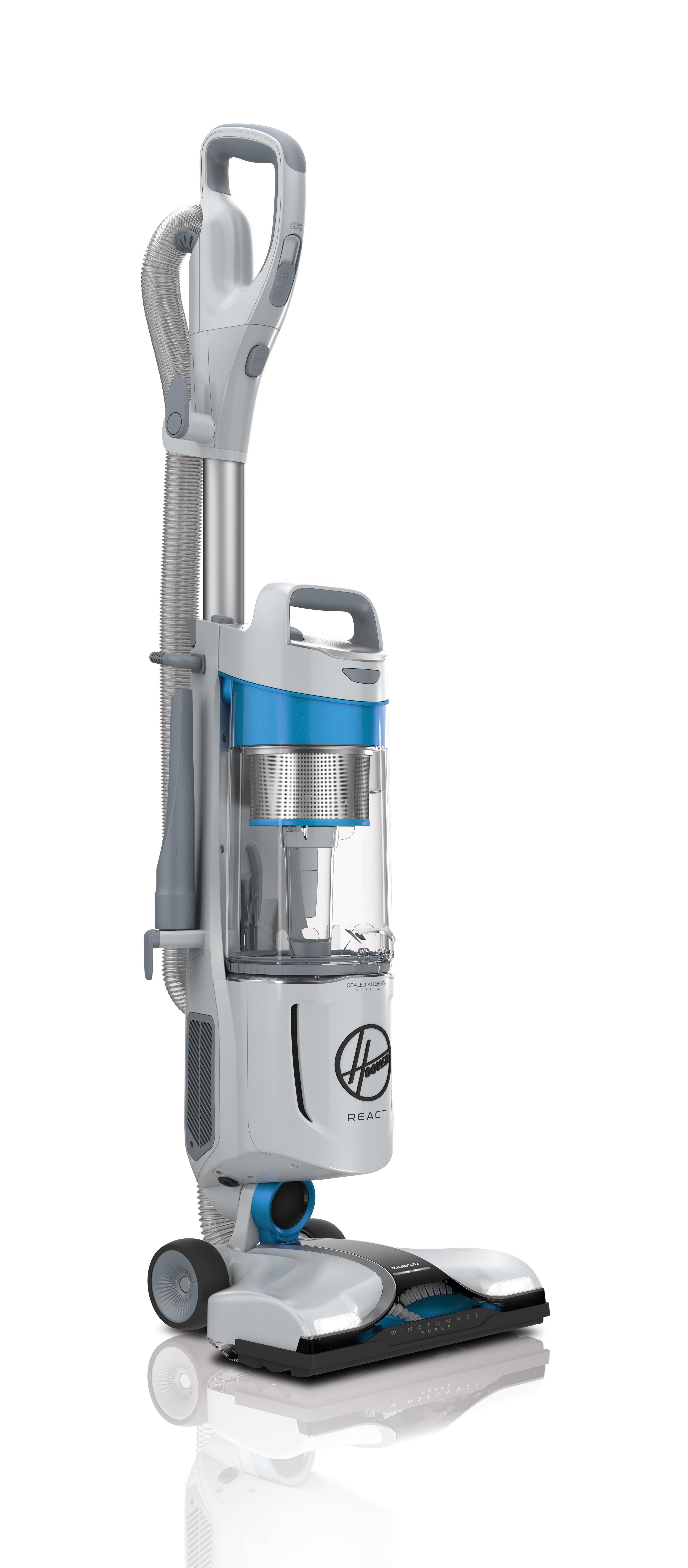 REACT Upright Vacuum11