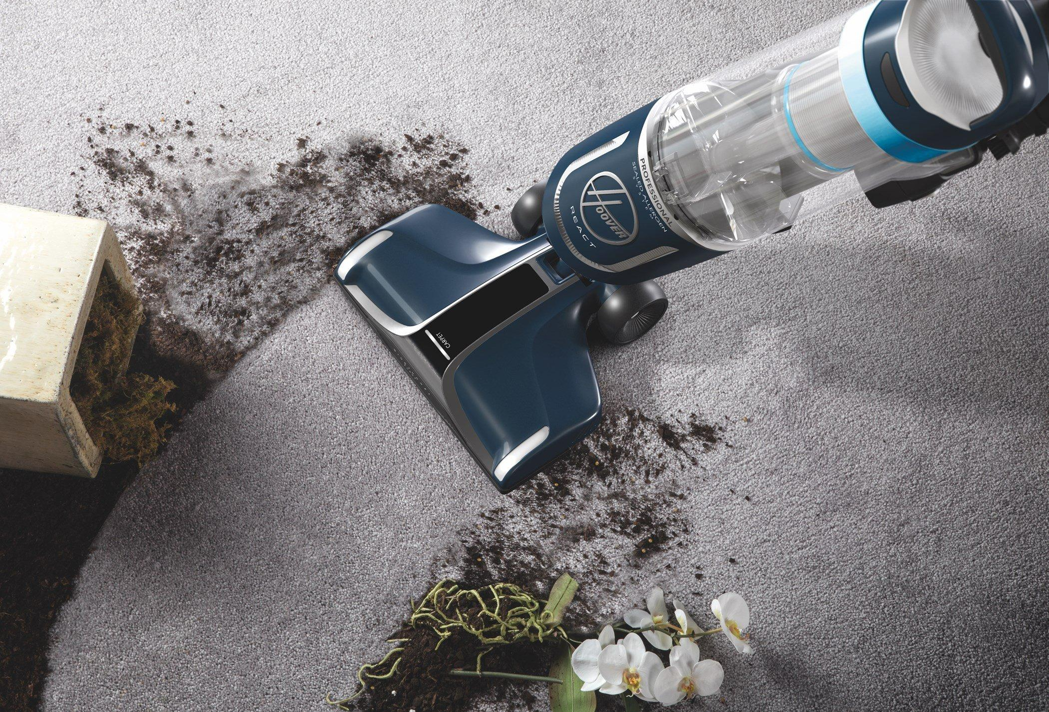 REACT Professional Pet Upright Vacuum3