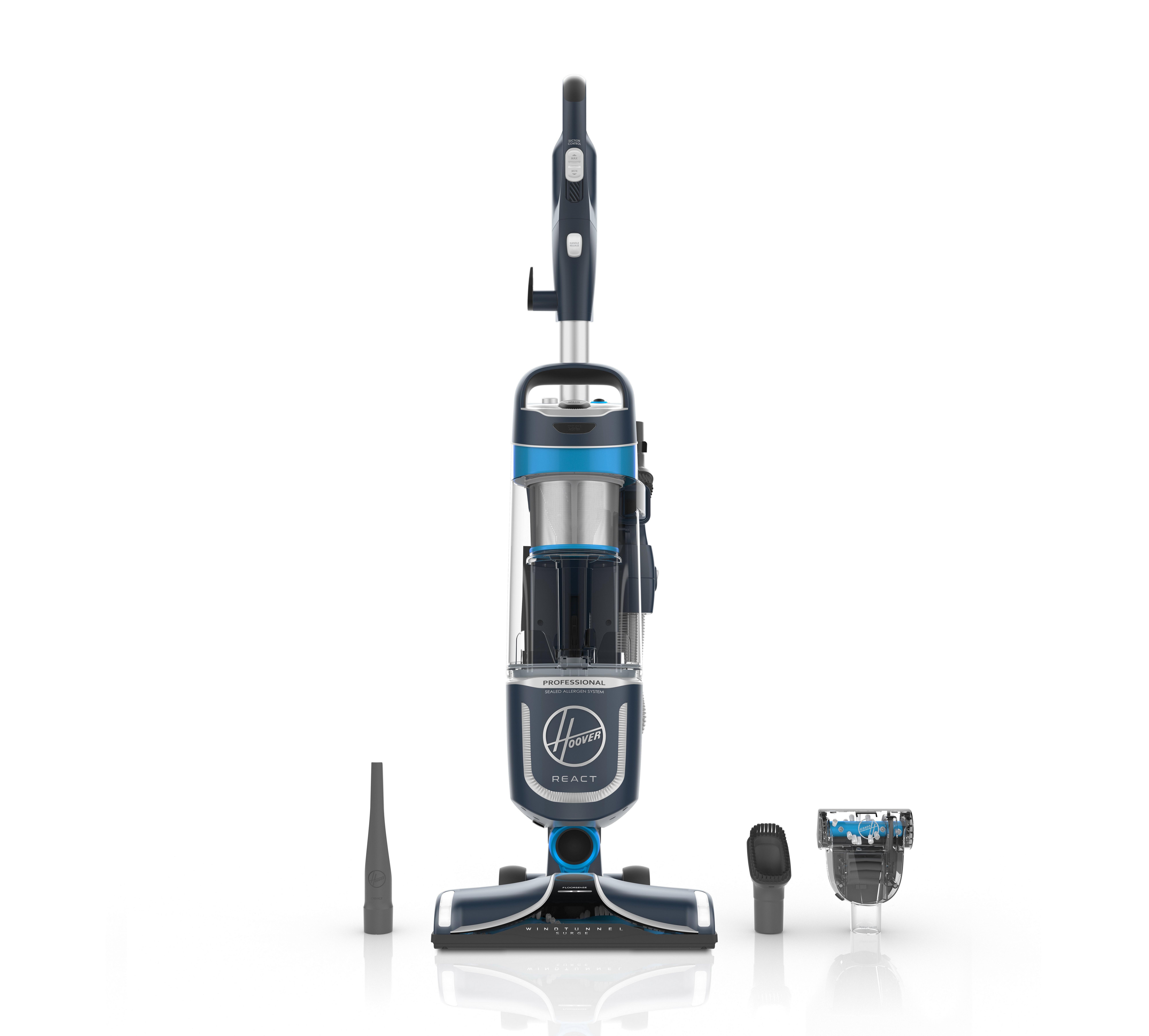 REACT Professional Pet Upright Vacuum