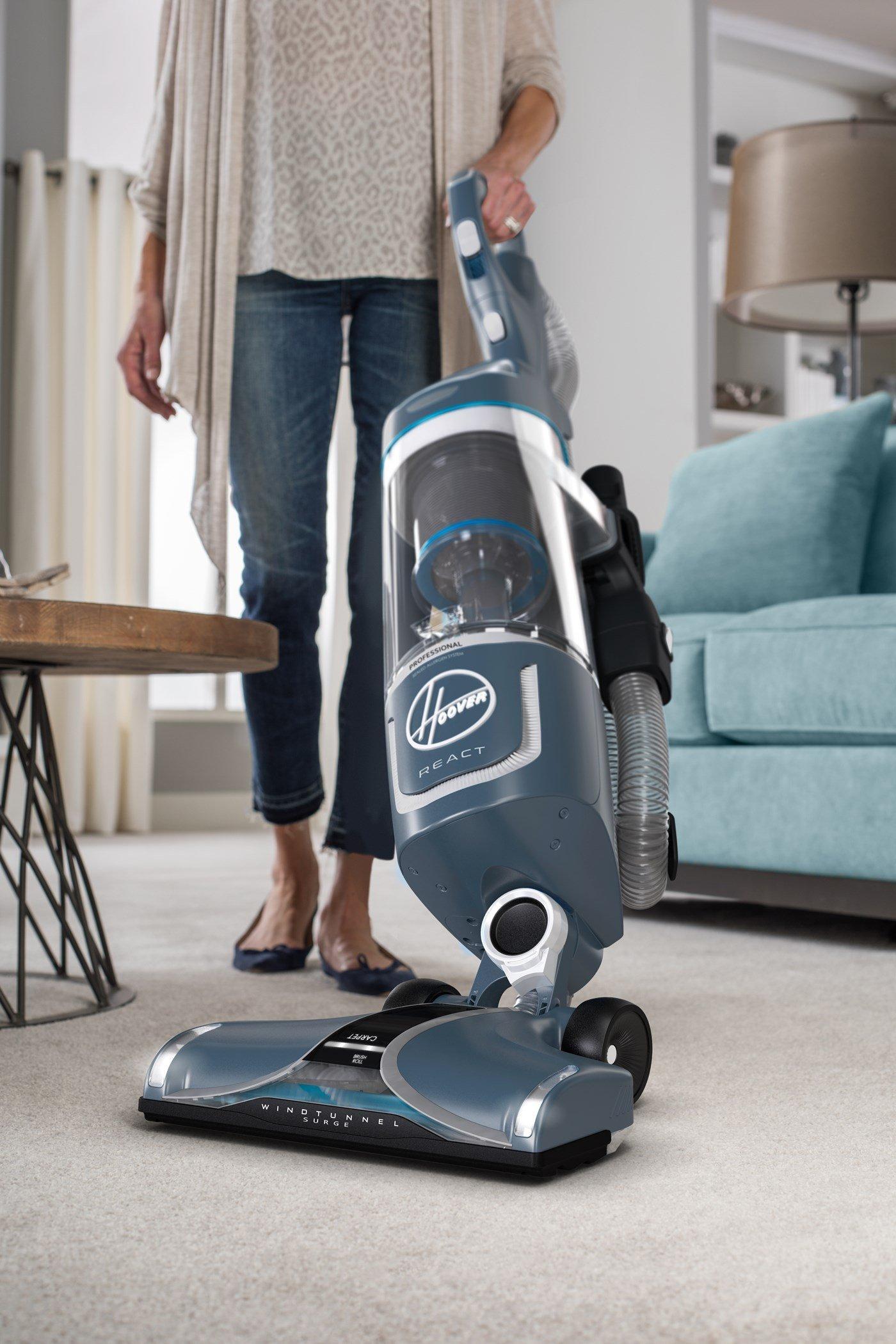 REACT Professional Pet Plus Upright Vacuum6