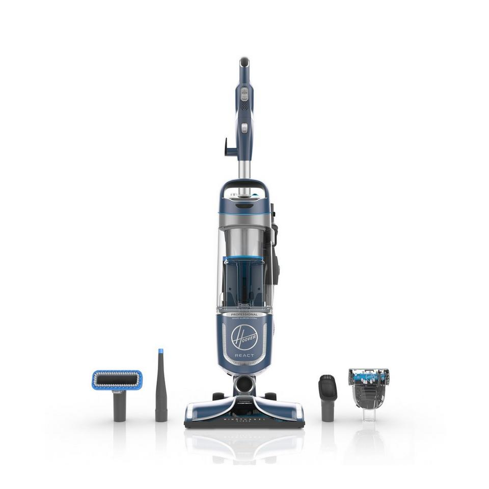 REACT Professional Pet Plus Upright Vacuum