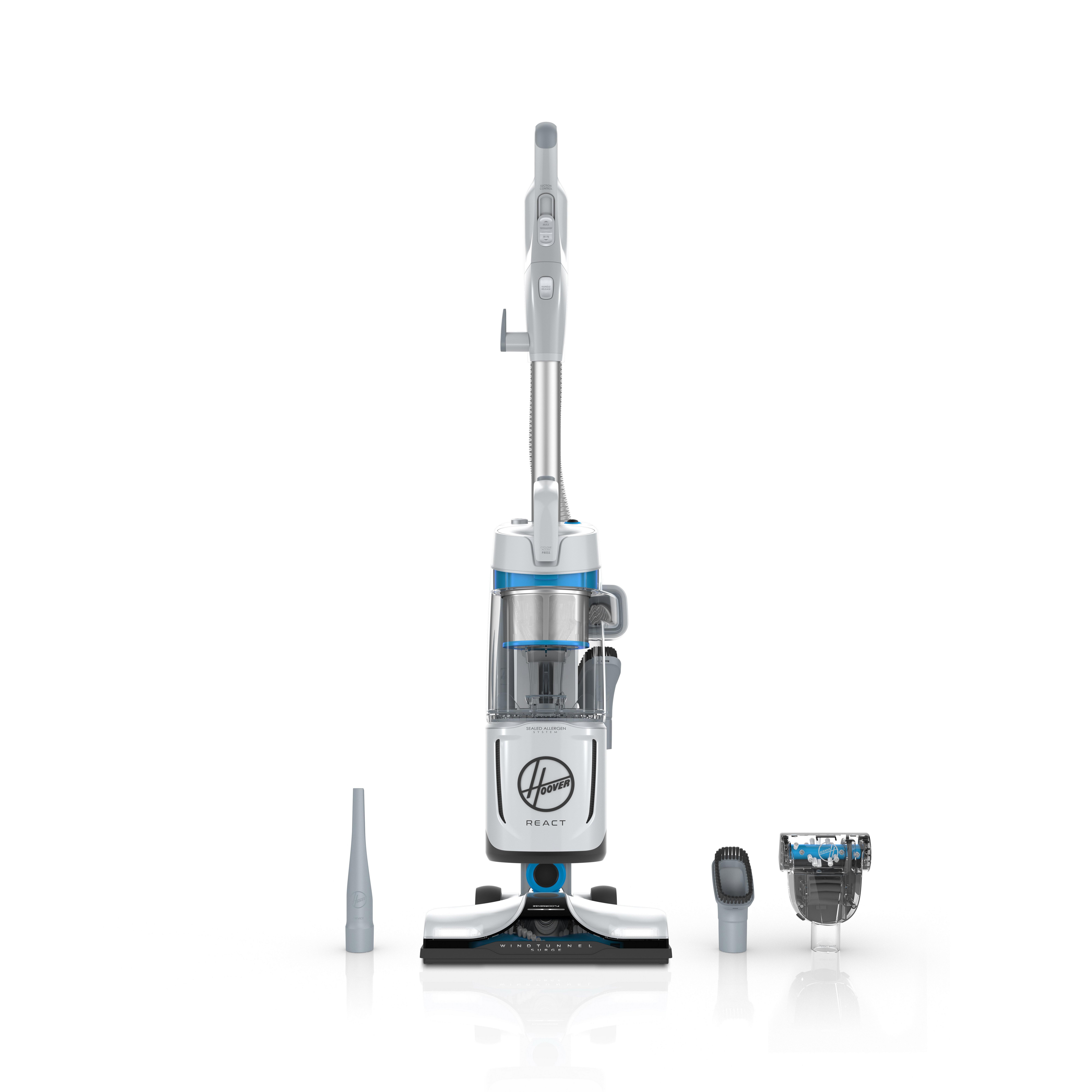 REACT QuickLift Upright Vacuum