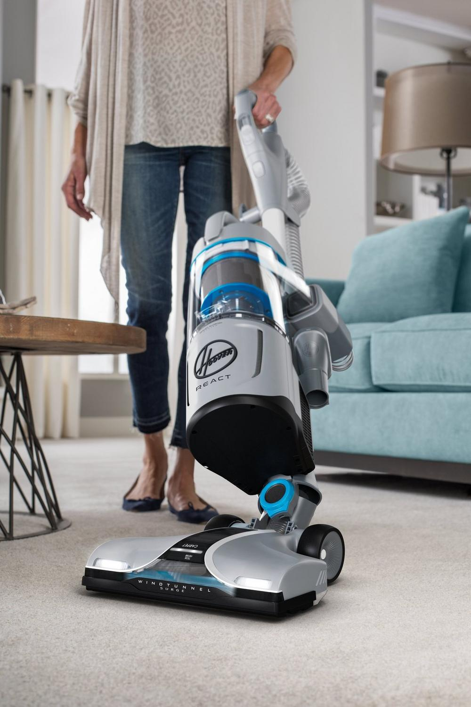REACT QuickLift Deluxe Upright Vacuum10